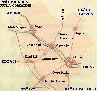 crvenka mapa Zbog čega protestuju ratari u opštini Kula? | Agroservis crvenka mapa
